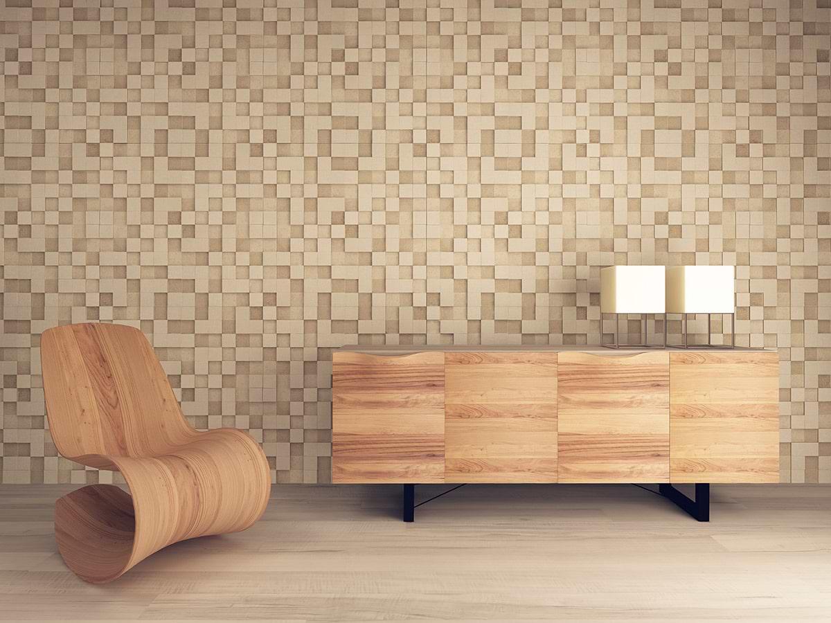 תמונת אוירה פינת ישיבה עץ