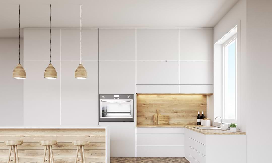תמונת אוריה מטבח לבן ועץ בהיר1