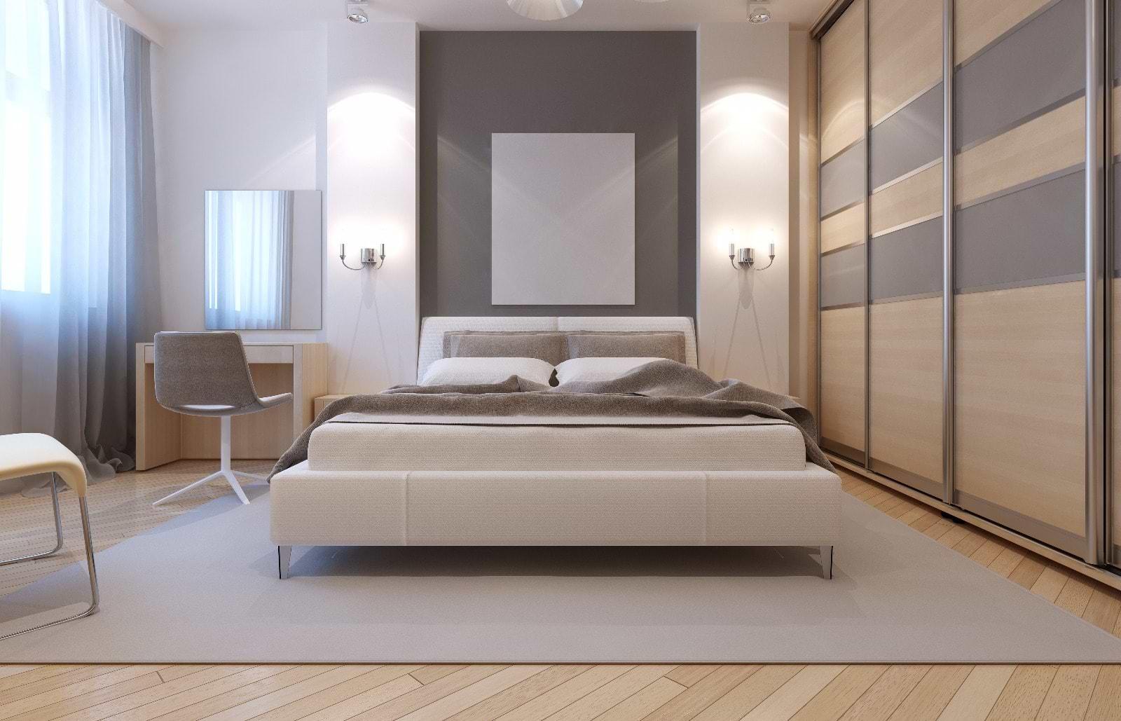 תמונת אוירה חדר שינה צבעים טבעיים