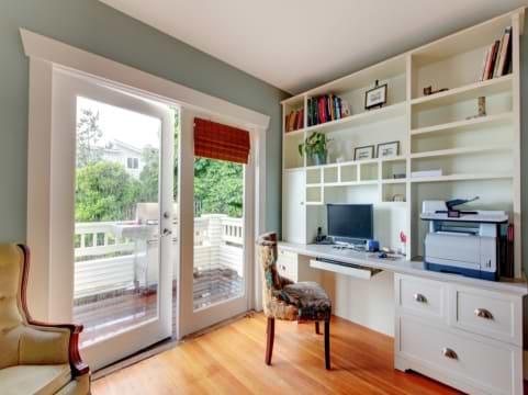תכנון חדר עבודה ביתי