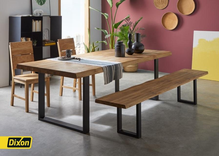 דיקסון - שולחן לדוגמא עם רגליות